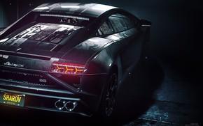 Picture Auto, Lamborghini, Machine, NFS, Lamborghini Aventador, Rendering, Sports car, Rivals, Mikhail Sharov, by Mikhail Sharov, …