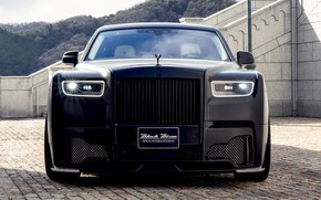 Picture Rolls-Royce, Phantom, front view, WALD, Black Bison Edition, 2019, Sports Line