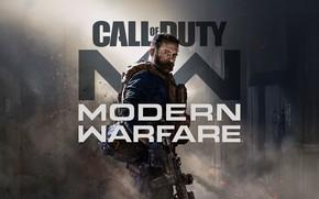 Picture hat, shooter, Call of Duty: Modern Warfare, Title art, reboot, restart