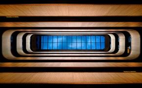 Picture window, floors, window to the sky