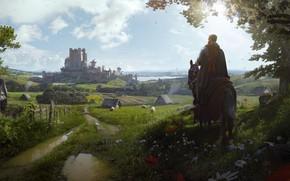 Picture Wojtek Fus, средневековая стратегия, medieval strategy game, Manor Lords