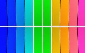 Picture strip, color, gradient, texture