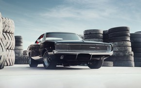Picture Muscle, Dodge, Coupe, Dodge Charger, Vehicle