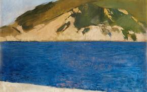 Picture landscape, picture, Joaquin Sorolla, Joaquin Sorolla and Bastida, Mount Ulia. San Sebastian