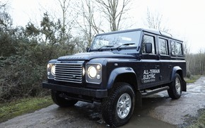 Picture SUV, prototype, Land Rover, Defender, 2013, All-terrain Electric Research Vehicle
