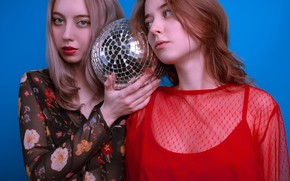 Picture makeup, mirror ball, Oleg Naumov, Anastasia Anastas, Rina Bezborodova
