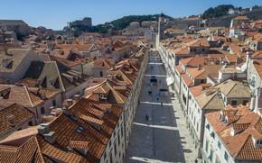 Picture street, home, Croatia, Dubrovnik