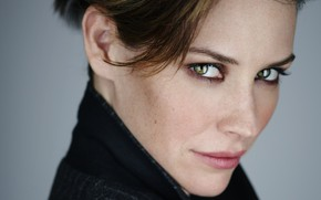 Picture look, face, portrait, makeup, actress, brunette, Evangeline Lilly, hair, Evangeline Lilly