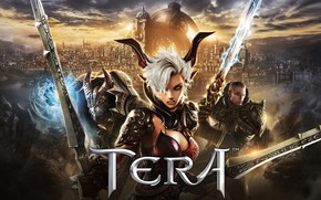 Picture the city, trio, characters, Tera