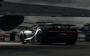 Picture the plane, wing, Bugatti, Sport, The, Chiron, 2021, Légendes Du Ciel