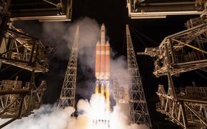 Picture NASA, Rocket, Delta IV Heavy