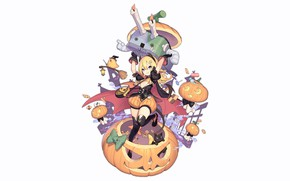 Picture girl, sexy, halloween, long hair, anime, beautiful, Abercrombie, blonde, attractive, handsome, Azur Lane