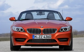 Picture BMW, Roadster, front view, 2013, E89, BMW Z4, Z4, sDrive35is