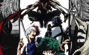 Picture guys, My Hero Academia, Boku No Hero Academy, Midori Isuku, Todoroki Shoto, killer characters, My …