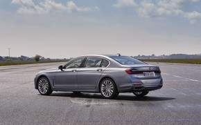 Picture BMW, sedan, side, four-door, G12, G11, 2020, 7, 7-series, 2019, full-size