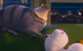 Picture cat, animals, dog, The secret life of Pets 2, The Secret Life of Pets 2