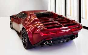 Picture coupe, the rear part, V10, De Tomaso Pantera, Hurricane, Lamborghini Huracan, 2020, two-door, Project1, Panther …