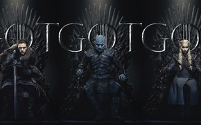 Picture poster, Game Of Thrones, Game Of Thrones, The 8th season