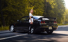 Picture Girl, Nissan, Skyline