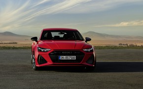 Picture Audi, front view, Sportback, RS 7, RS7, 2020