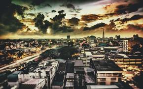 Picture sunrise, Malaysia, Kota Bharu