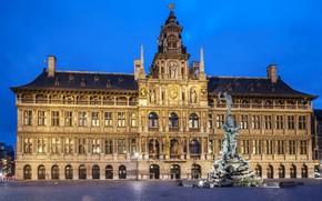 Picture Belgium, Antwerp, Antwerp, town square
