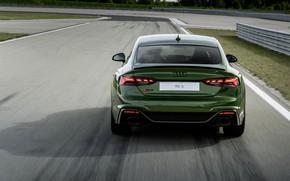 Picture asphalt, Audi, track, feed, RS 5, 2020, RS5 Sportback
