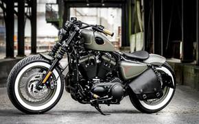 Picture Bike, Harley-Davidson, Motorcycle, Thunderbike