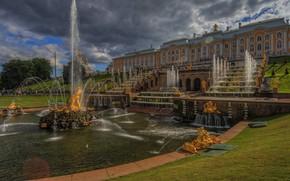Picture Saint Petersburg, Russia, Peterhof