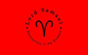 Picture Samael, Archangel Samael, Geburah