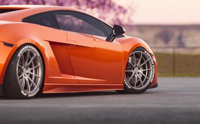 Picture Auto, Machine, Orange, Gallardo, Supercar, Lamborghini Gallardo, Sports car, Transport & Vehicles, by Cameron Parmer, …