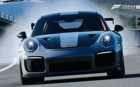 Picture HDR, 911, Porsche, Game, GT2 RS, FM7, UHD, Forza Motorsport 7, Xbox One X, Porsche …
