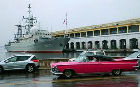 Picture ship, Cuba, intelligence, visit