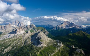 Picture landscape, mountains, nature, panorama