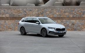 Picture Parking, Skoda, universal, Skoda, Octavia, 2020, Octavia Combi