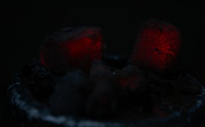 Picture hookah, Coal, Embers, угли от кальяна, красные угли
