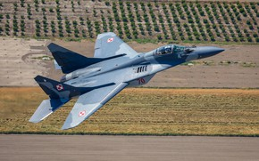 Picture multi-role fighter, MiG-29A, Polish air force