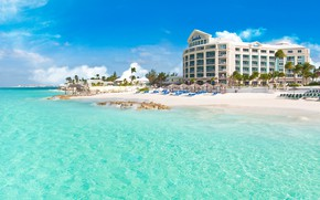 Picture sea, water, stay, the hotel, Bahamas, Sandals Royal Bahamian