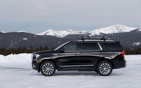 Picture side view, GMC, SUV, Denali, Yukon, 2020