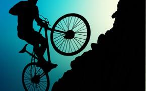 Picture sport, mountain, mountain bike, mountain biking