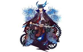 Picture Ao no Exorcist, Rin, Okumura Rin, Blue Exorcist