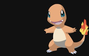Picture light, pokemon, Charmander