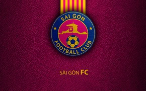 Picture wallpaper, sport, logo, football, Sai Gon