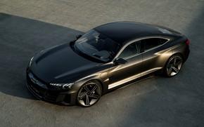 Picture Audi, coupe, drives, 2018, e-tron GT Concept, the four-door