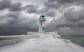 Picture Germany, Lighthouse, Sassnitz
