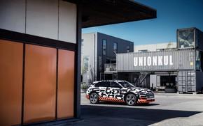 Picture Audi, Parking, canopy, 2018, E-Tron Prototype