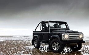 Picture overcast, 2008, Land Rover, Defender, SVX, 60th Anniversary Edition