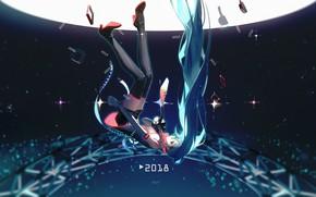 Picture Girl, Hatsune Miku, Vocaloid, Vocaloid, Hatsune Miku, Falls