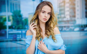 Picture look, Girl, dress, Lisa, Efremov Sergey