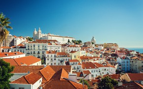 Picture The city, Day, Portugal, Lisbon